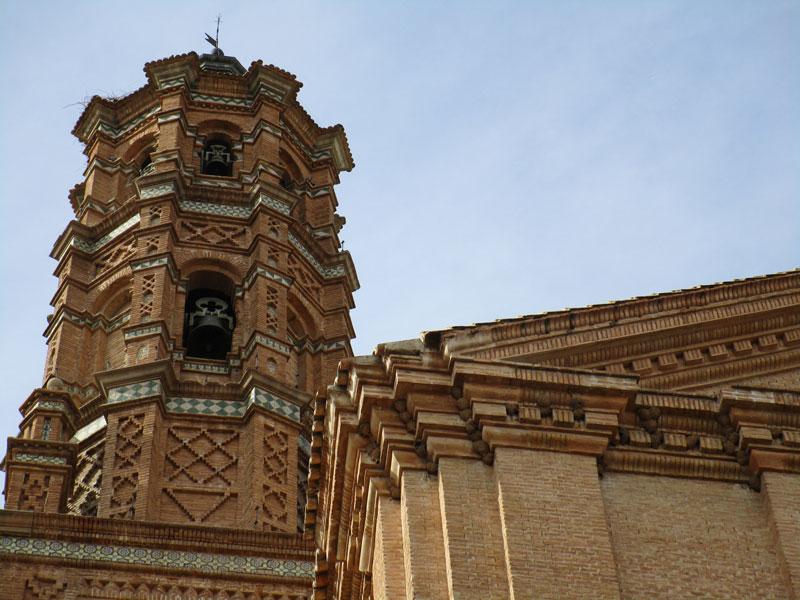 Torre de iglesia mudéjar, La Almunia