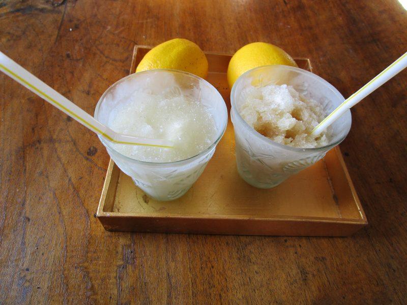 Lemon granizado